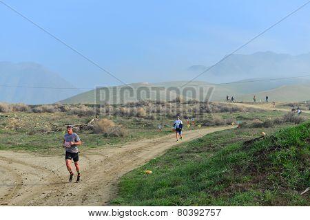 Running a Dirt Path