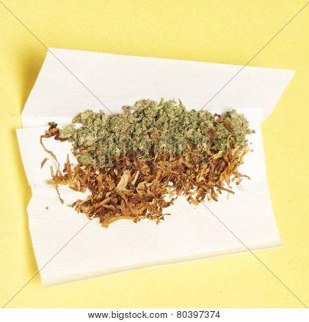 Marijuana and Tobacco, Spliff
