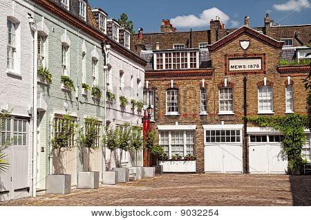 Mews Houses in London.