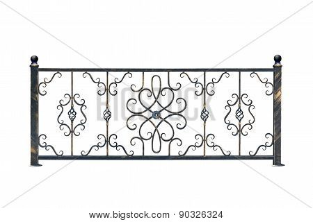 Decorative, Banisters Fence For The Park.