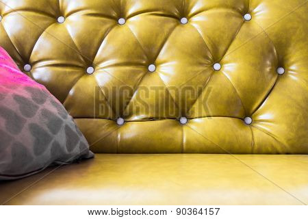 Upholstery Leather Pattern Background