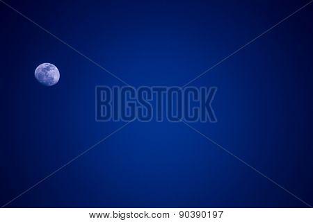 Moon In Clear Sky