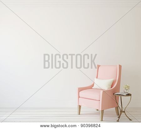 Interior With Armchair.