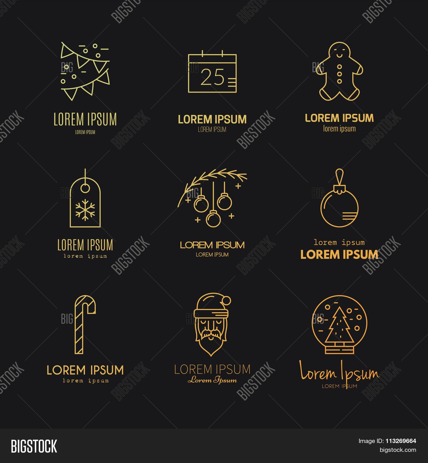 christmas logos - Christmas Logos