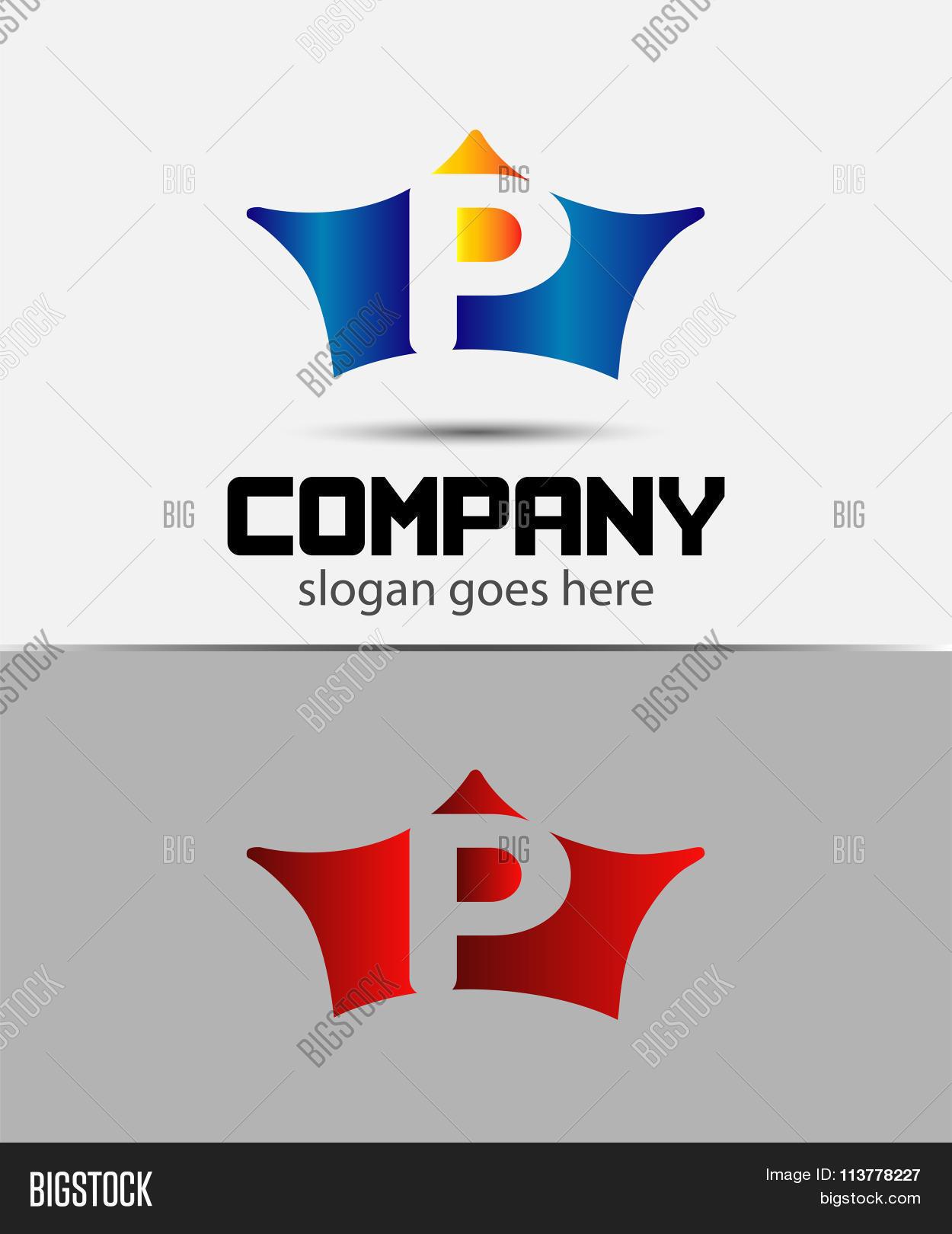 Crown icon design element letter vector photo bigstock crown icon design element letter p symbol biocorpaavc