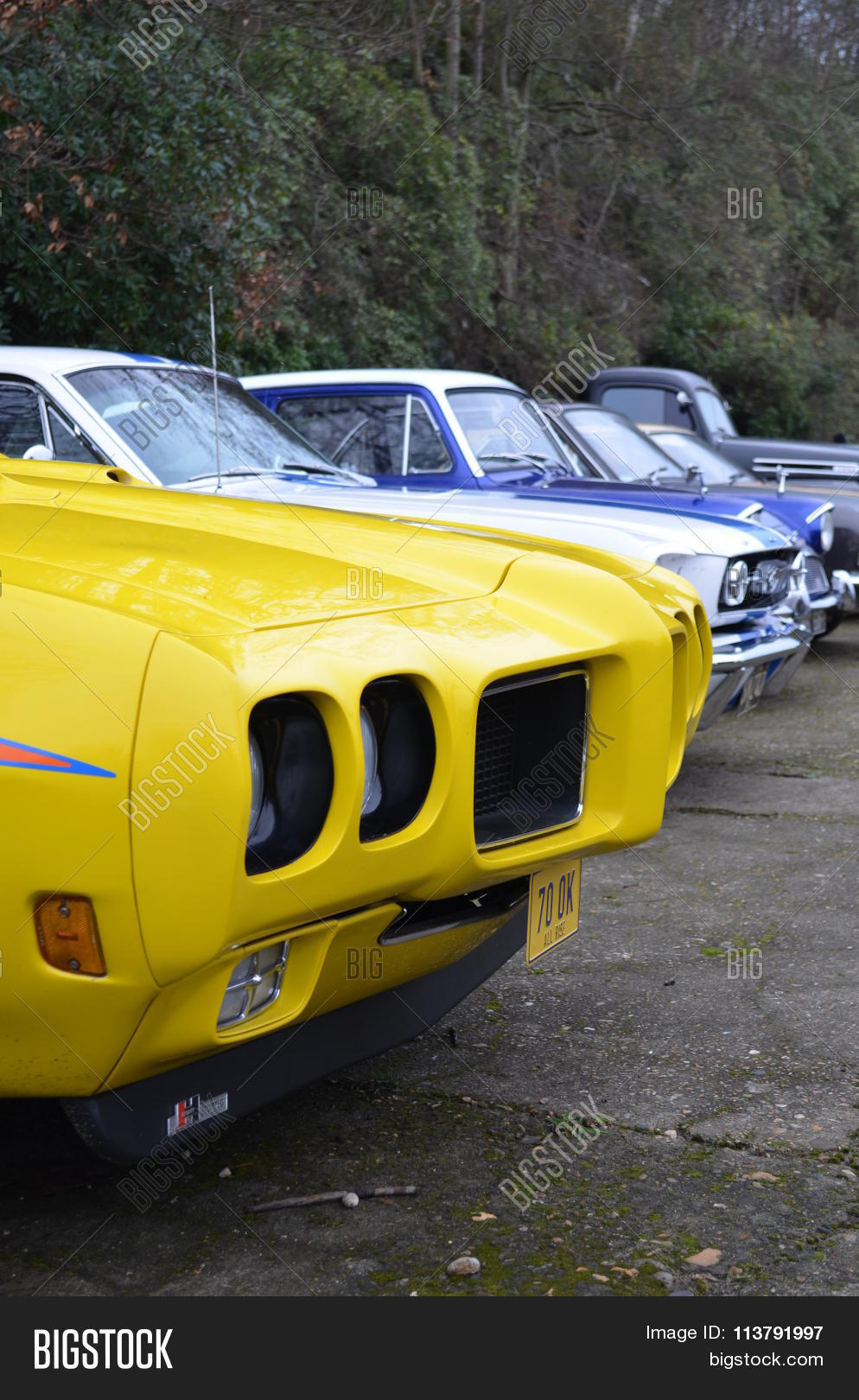 Classic Cars New Year Image Photo Free Trial Bigstock