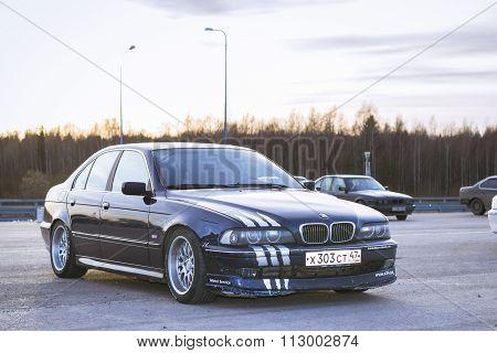 Old-car Bmw M5-series E39