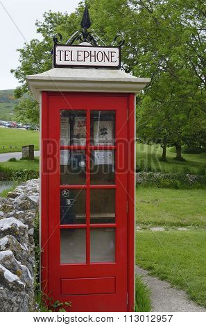 Restored Telephone Kiosk