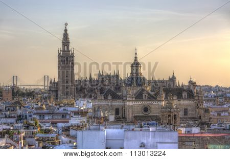 The Cathedral Of Seville, Andalusia, Spain