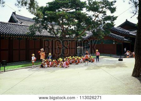Field Trip to the Jongmyo Shrine