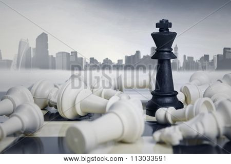 Business Strategic Formation In The Chess Game