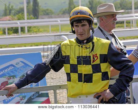 Jockey Timur Guseinov