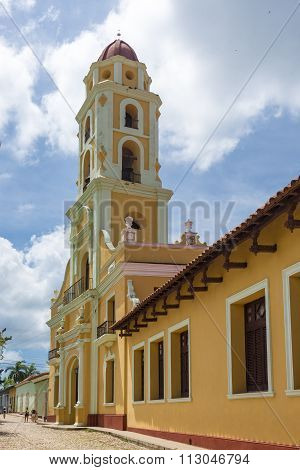 Saint Francis of Assisi Convent in Trinidad,Cuba