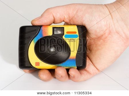 A Disposable Camera In Hand, Photographer