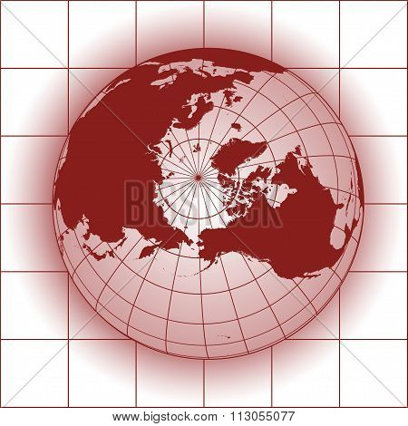 North Pole Red