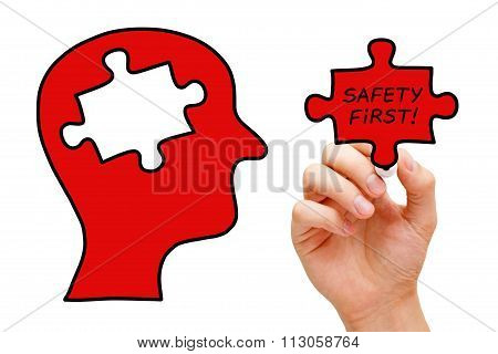 Safety First Puzzle Head Concept