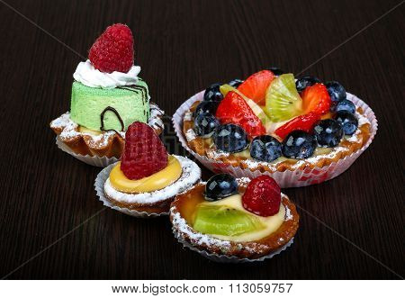 Pastry With Berries