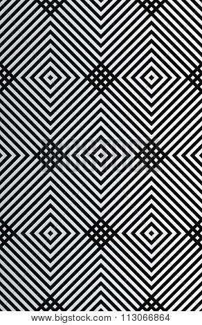 Vector illustration seamless pattern squares.