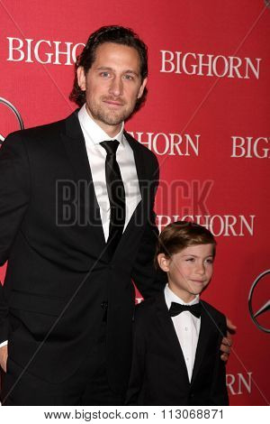 PALM SPRINGS - JAN 2:  Jacob's father, Jacob Tremblay at the 27th Palm Springs International Film Festival Gala at the Convention Center on January 2, 2016 in Palm Springs, CA