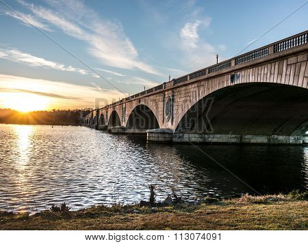 The Arlington Memorial Bridge