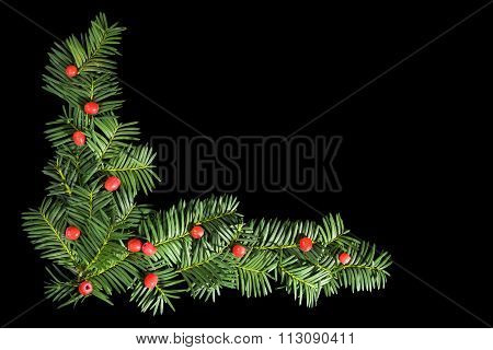 Christmas Background With Copyspace.