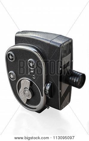 Vintage cine movie camera