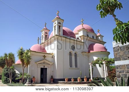 Greek Church Of The Council Of The Twelve Apostles In Capernaum, Israel