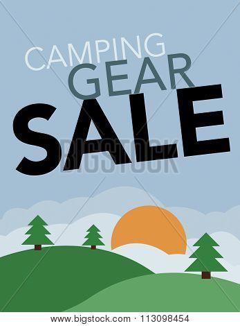 Camping Gear Sale
