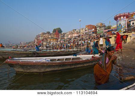 Varanasi in the morning