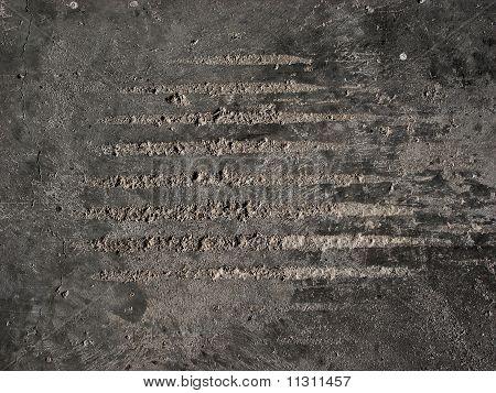 Scraped Concrete