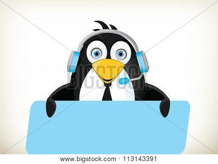 Phone Operator Penguin