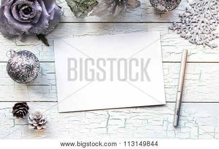 Winter Holidays Mockup Concept