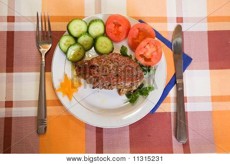 Baked  Beef