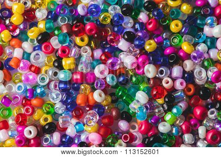 The beads background