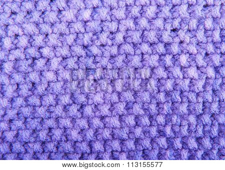 Woolen Knitted Mohair Colored