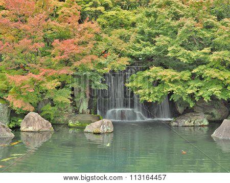 Koko-en Garden in Himeji, Hyogo Prefecture, Japan.