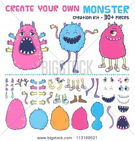 Monster creation kit.