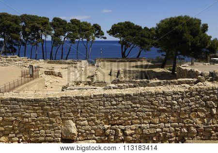 Empuries Ruins, Girona, Spain