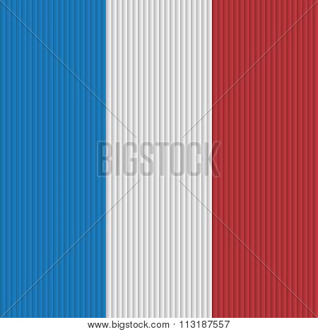 France flag background