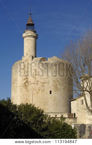 Castle Of Aigues-mortes, Camargue, France
