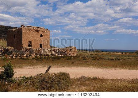 Tower of Cabo De Gata, Almeria, Spain
