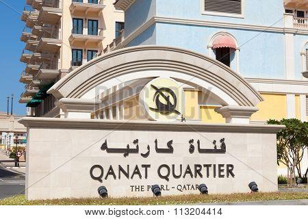 Qanat Quartier At The Pearl, Qatar