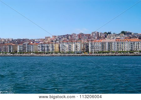 View Of Santander, Cantabria, Spain