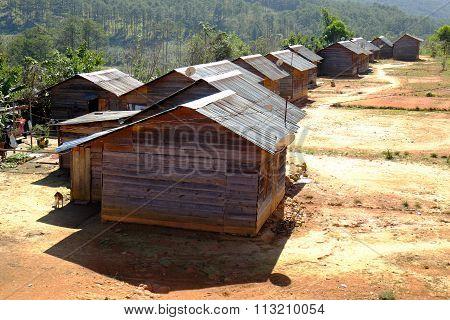Dalat Countryside, Housing, Settle, Landscape