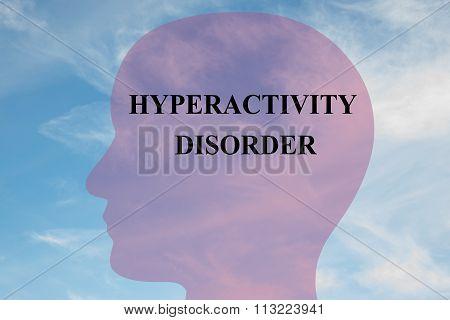 Hyperactivity Disorder Concept