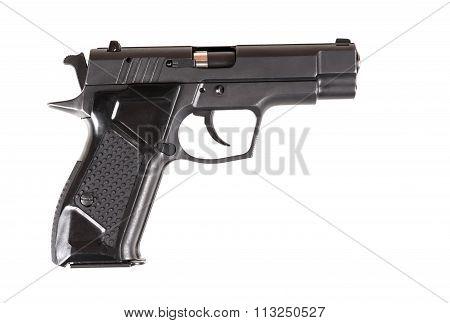 Pistol isolated on white background