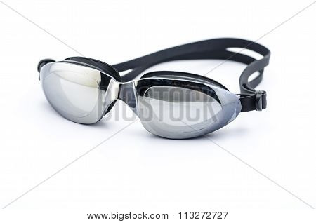 swimming goggles isolated on a white background