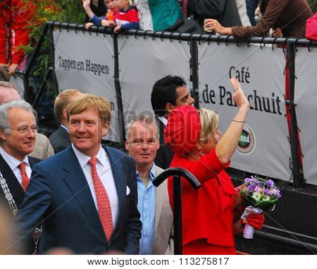 Dutch Royalty - King Willem Alexander and Queen Maxima