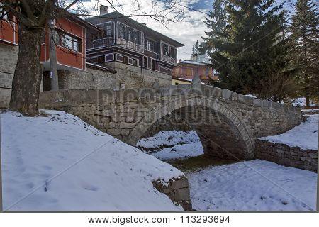 The bridge which began April Uprising in historical town of Koprivshtitsa