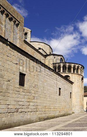Nuestra Señora D'urgell Cathedral, La Seu D'urgell, Lleida, Catalunya, Spain
